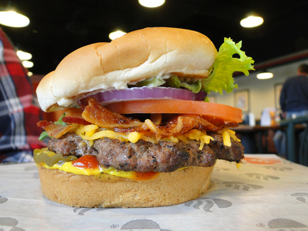 Backyard Buger a quick & delicious burger solution for the burger lover - tulsa food