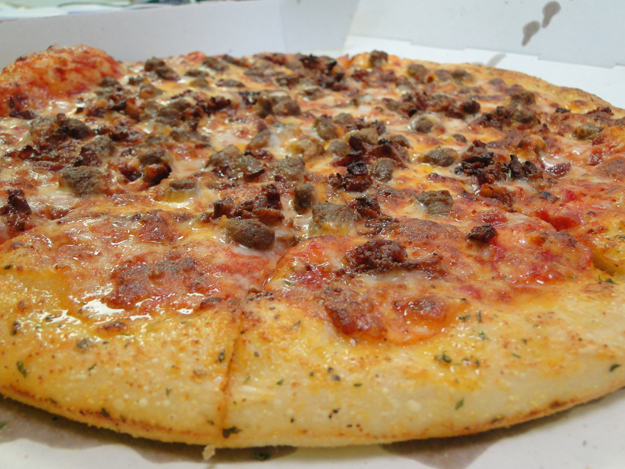 hungry howies cheeseburger pizza