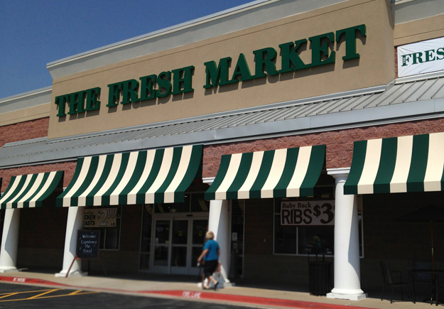 Outside The Fresh Market Tulsa Oklahoma