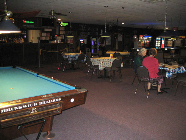 Sandite Billiards Interior