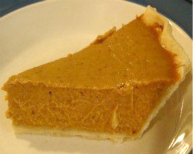 spicy pumpkin orange pie