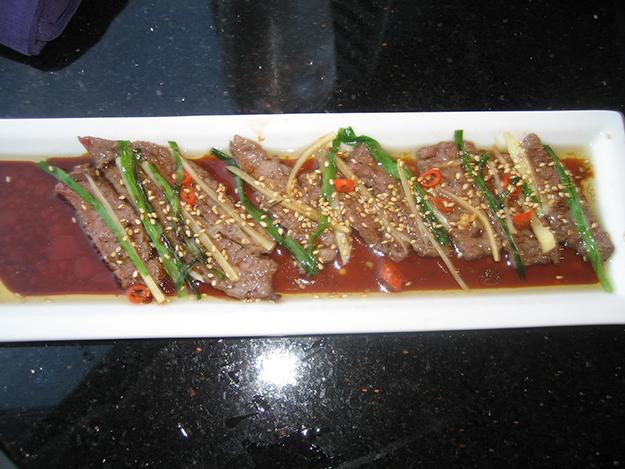 Zanmai Beef Sashimi