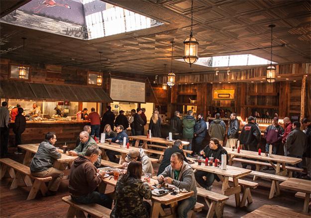 Inside BurnCo Restaurant