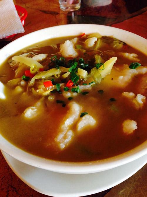 Mandarin Taste Fish CabbageSoup
