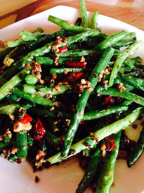 Mandarin Taste Green Beans