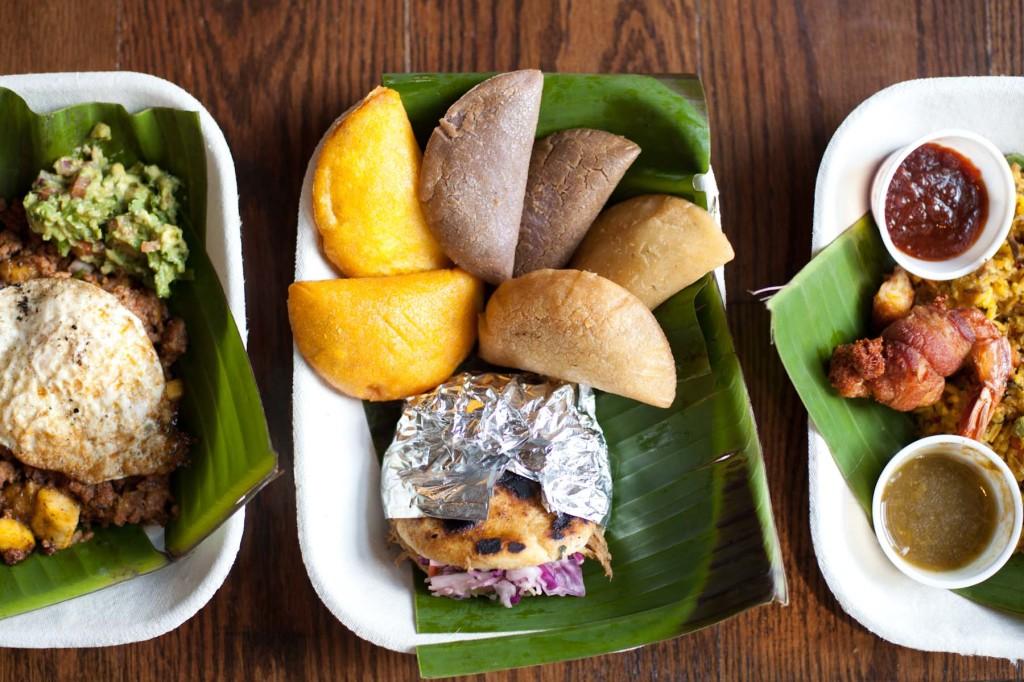 Empanda, center dish
