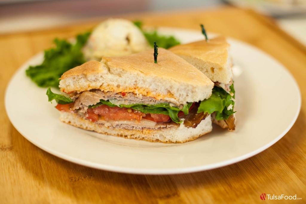 Florence Park Cafe - Roast Beef Sandwich