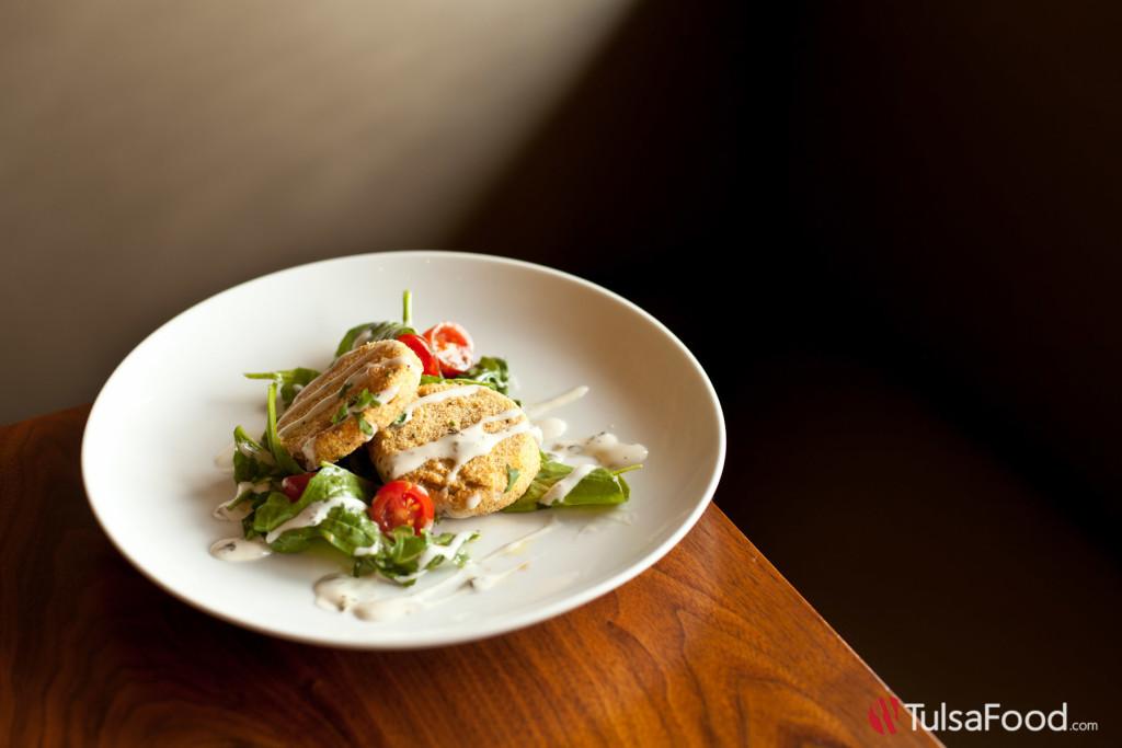Palace Cafe - Fried Green Tomato Salad