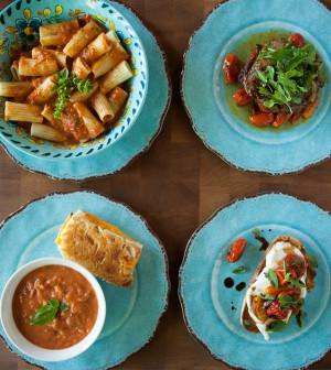 Roasted tomatoes four ways tulsa food for Asian cuisine tulsa menu