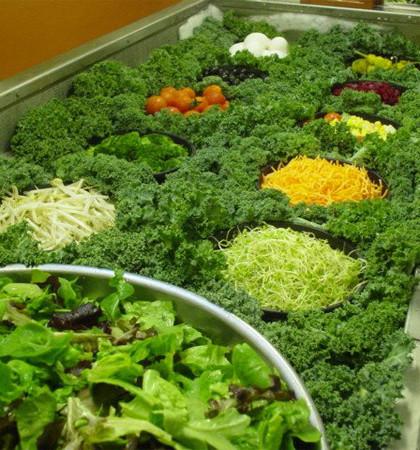 Kale saladbar