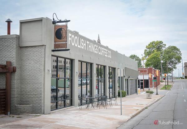 Foolish Things Coffee co in downtown Tulsa